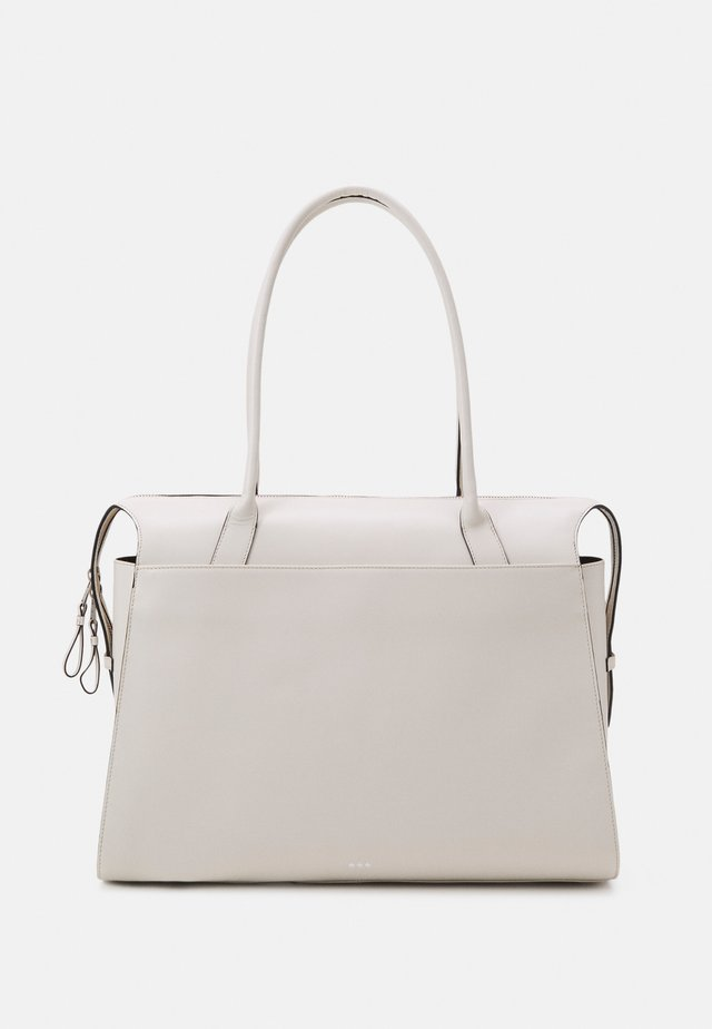 CROWN DAY BAG  - Shopping bag - off white