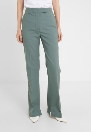 STRUCTURED PANT - Trousers - beryl green