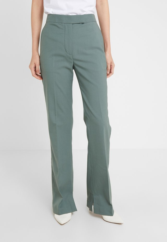 STRUCTURED PANT - Pantaloni - beryl green