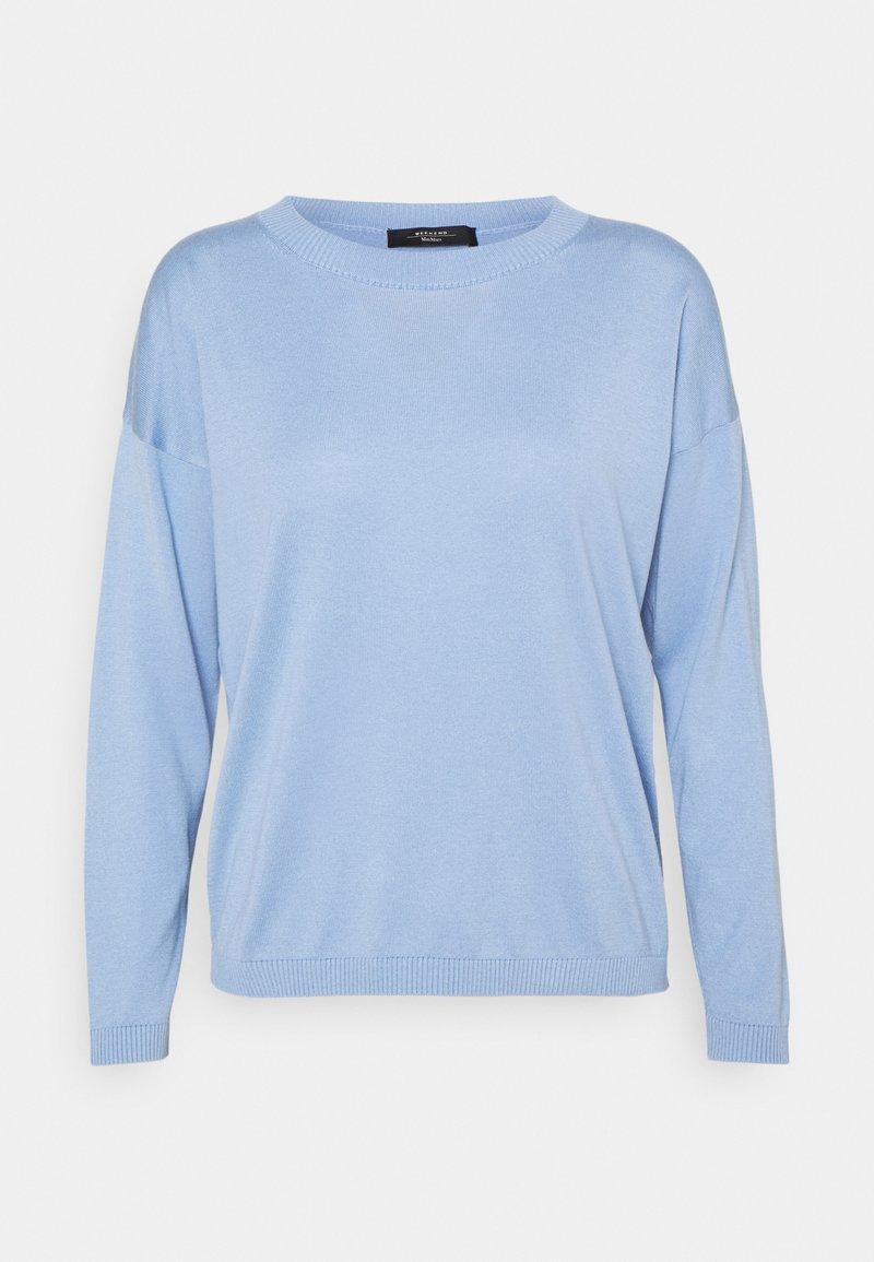 More & More - DOLMANSLEEVE  - Jumper - soft blue