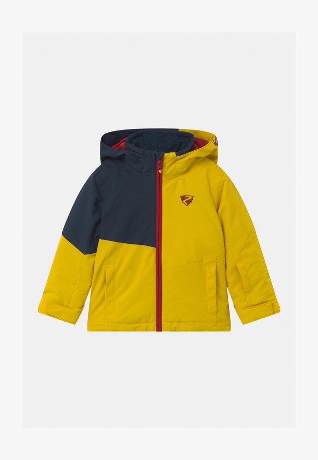 ABIAN JUN UNISEX - Snowboard jacket - mustard
