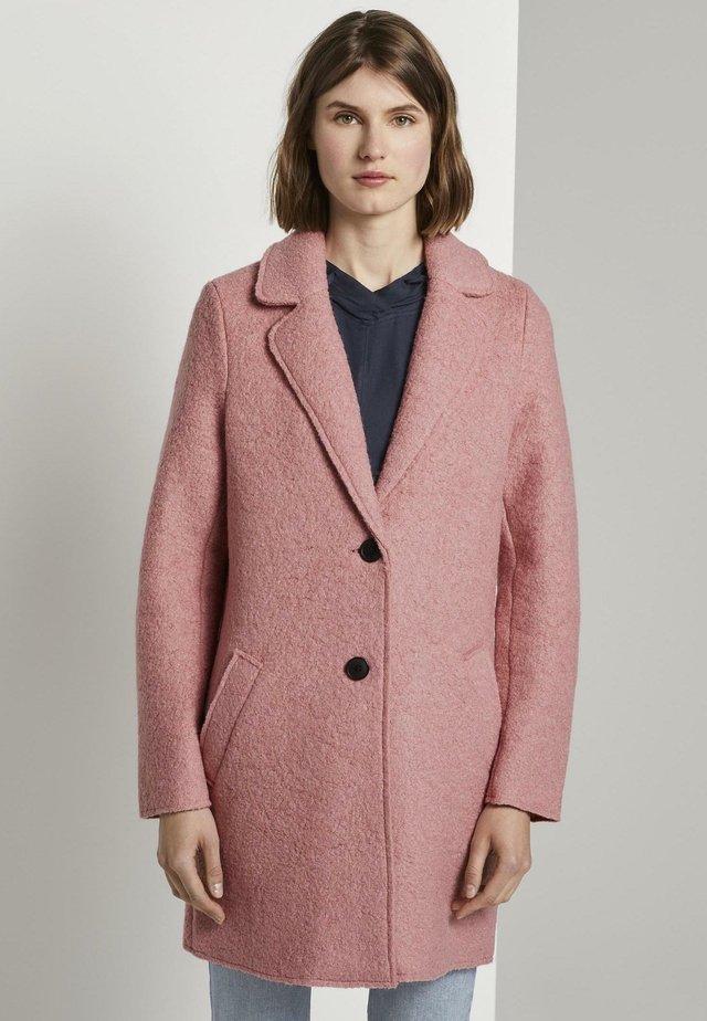 EASY WINTER COAT - Abrigo - blush rose