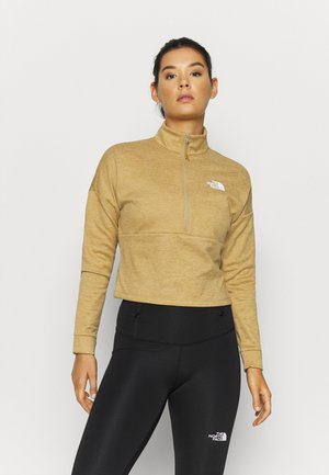 ACTIVE TRAIL ZIP - Sweater - moabkhakilgtht