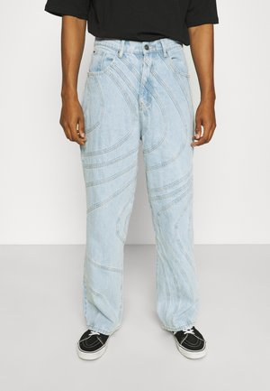 WAVE SEAM RELAXED FIT - Relaxed fit jeans - blue