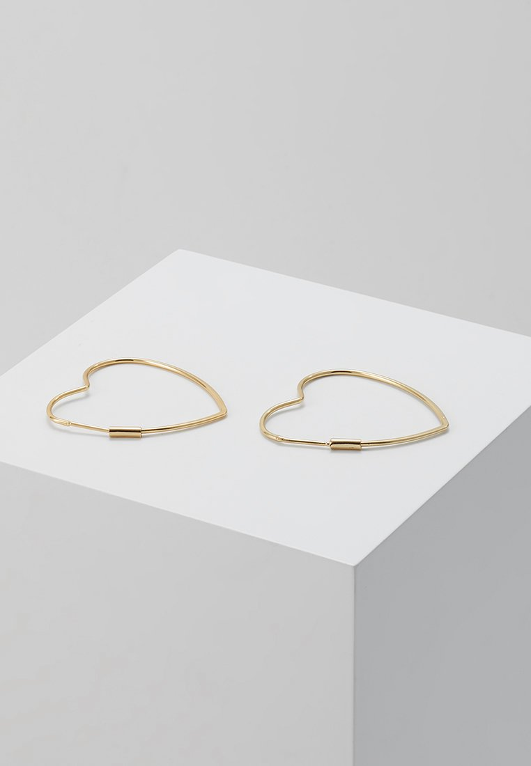 Accessori,Gioielli,Borse & Beauty care Orelia HEART HOOP EARRINGS Orecchini gold-coloured