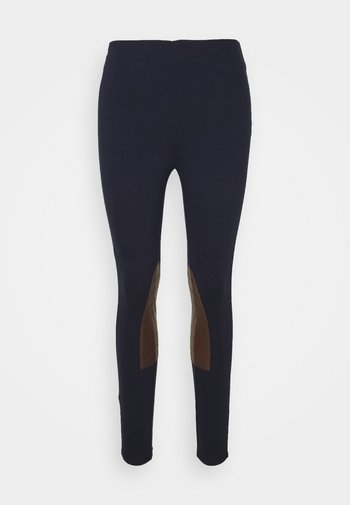 ATHEDORA - Leggings - Trousers - navy