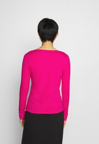Tommy Hilfiger - REGULAR CLASSIC - Long sleeved top - bright jewel - 2