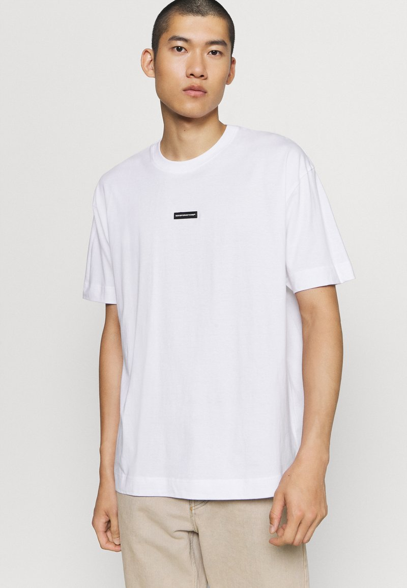Good For Nothing - BRANDING BADGE - Print T-shirt - white