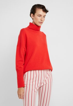 THE RELAXED - Sweter - bright red
