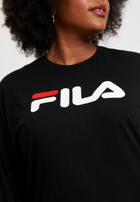 Fila Plus - PURE LONG SLEEVE - Sweatshirt - black - 5