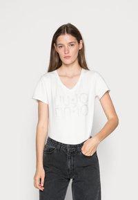 Liu Jo Jeans - Printtipaita - white - 0