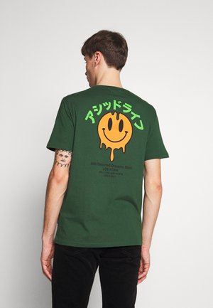 T-shirt z nadrukiem - green