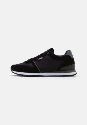 YORK EYELET TRAINER - Sneakersy niskie - black