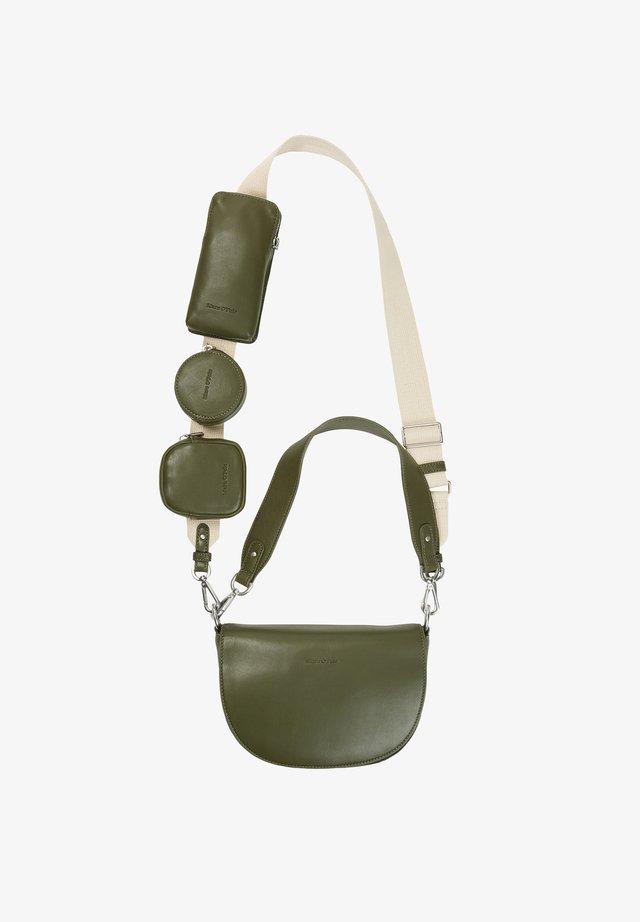 CROSSBODY BAG - Across body bag - olive green