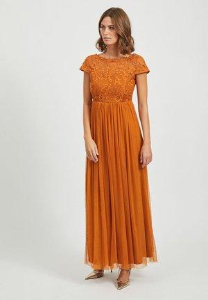 SPITZEN - Robe longue - pumpkin spice