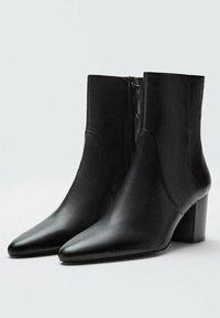 Massimo Dutti - Classic ankle boots - black - 1