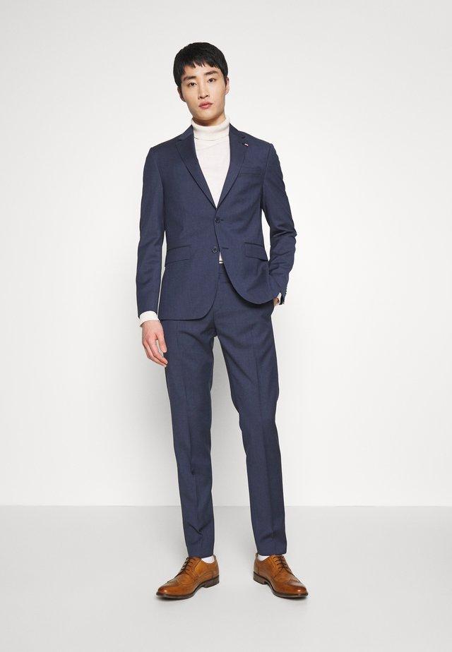SLIM FIT SUIT - Costume - blue