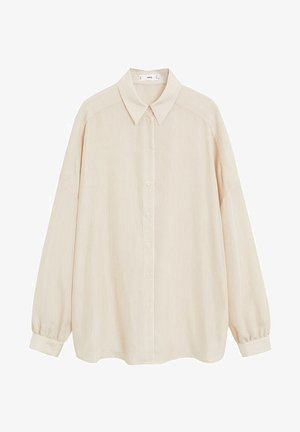 LINER - Button-down blouse - beige
