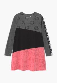 Desigual - HELLO  - Jersey dress - black - 1