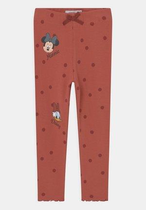 NMFMINNIE ASSINAJA PANT WDI - Leggings - etruscan red