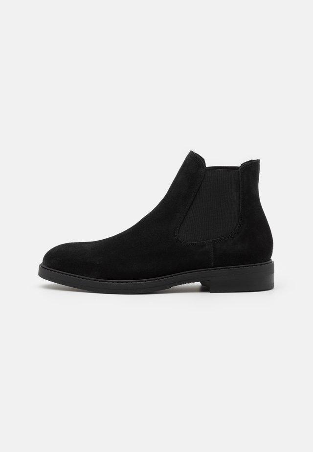 SLHBLAKE CHELSEA BOOT - Kotníkové boty - black