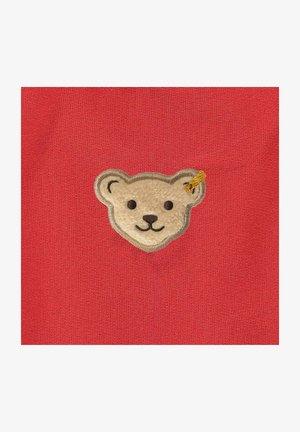 MIT SÜSSEN TEDDY TÄSCHCHEN - Zip-up sweatshirt - true red