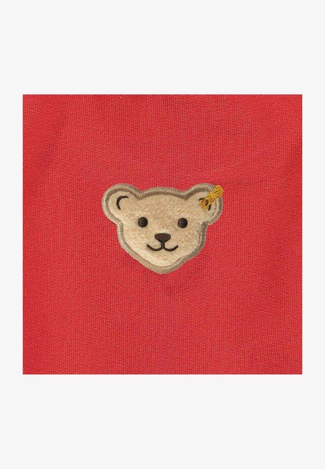 MIT SÜSSEN TEDDY TÄSCHCHEN - Sweater met rits - true red