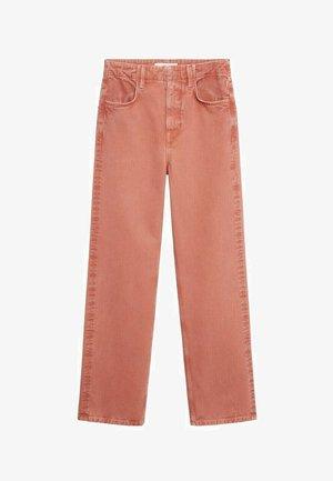 LOLA-I - Straight leg jeans - rød