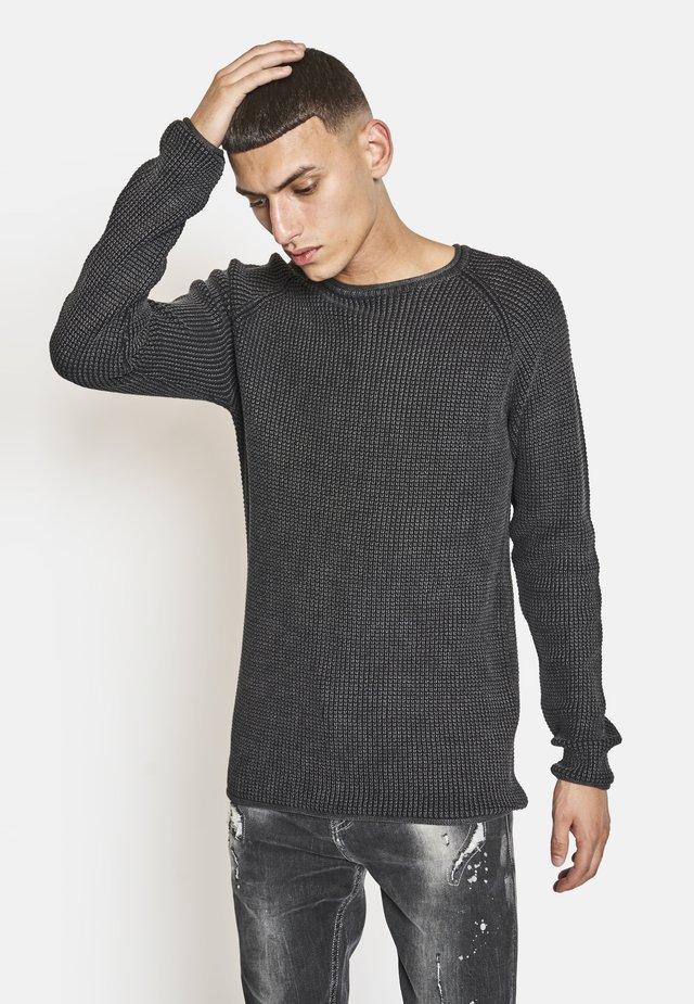 Jersey de punto - black