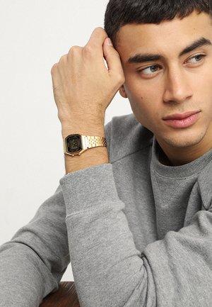 Digitaal horloge - gold-coloured/black