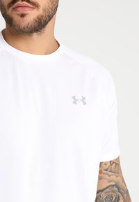 Under Armour - Sports shirt - white/overcast gray - 5