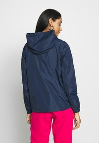 Tommy Jeans - CHEST LOGO WINDBREAKER - Summer jacket - twilight navy - 2