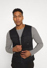Only & Sons - ONSKING LIFE  - Waistcoat - black - 3