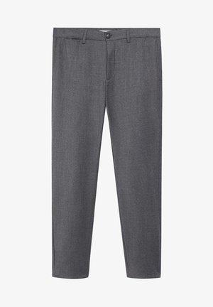 PORTO - Trousers - grey