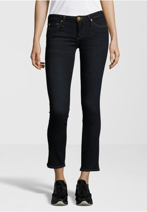 NEW HALLE CROPPED - Jeans Skinny Fit - dark blue