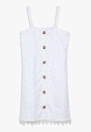 TEEN GIRLS DRESS - Denní šaty - optical white