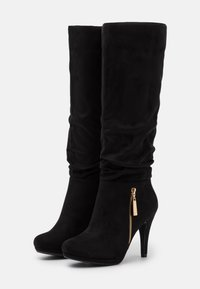 Wallis - HONEY - High heeled boots - black - 2