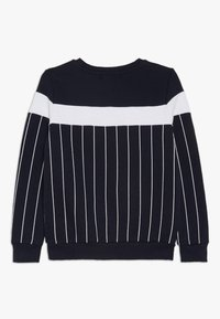 Modern Native - COLOUR BLOCK WITH SCREEN PRINTED STRIPES - Mikina - blue - 1
