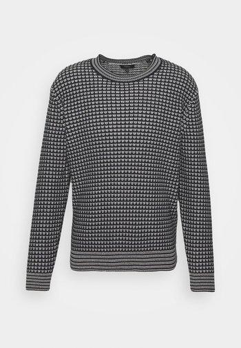 LEWIS CREW - Pullover - grey multi