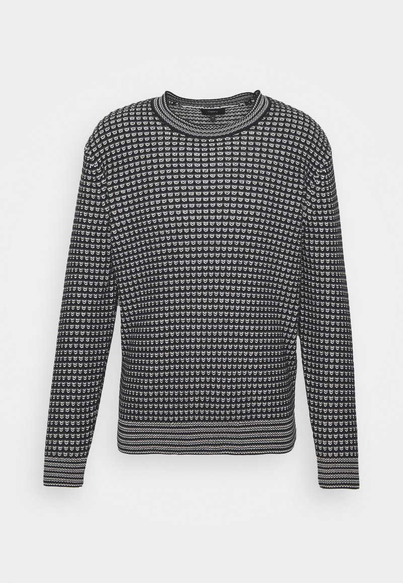 Theory - LEWIS CREW - Pullover - grey multi