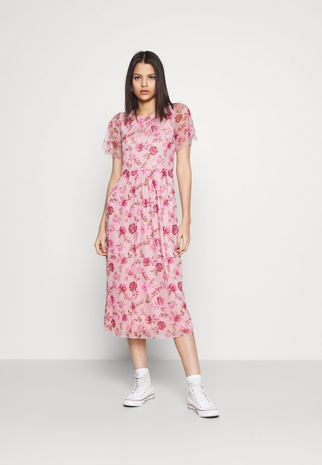 VIMIRANDA MIDI DRESS - Cocktailjurk - cream pink
