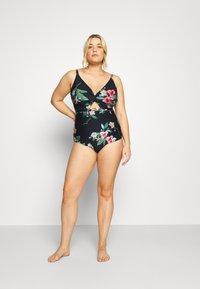 City Chic - MAJORCA - Swimsuit - black - 1
