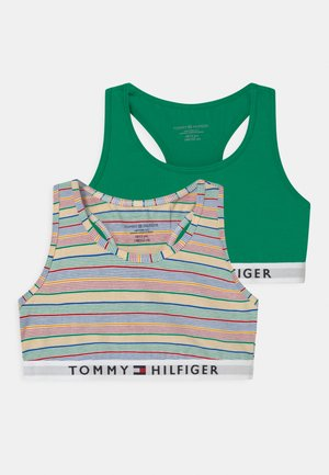 STRIPES 2 PACK - Bustier - primary green