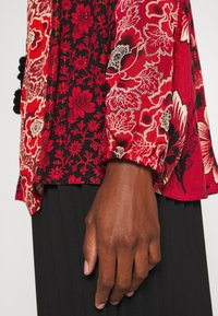 Desigual - BLUS ROSAL DESIGNED BY MR CHRISTIAN LACROIX - Bluser - borgoña - 4