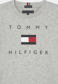 Tommy Hilfiger - LOGO - Triko spotiskem - light grey heather - 2