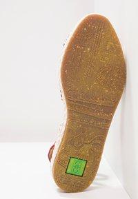 El Naturalista - MARINE - Platform sandals - tibet - 4