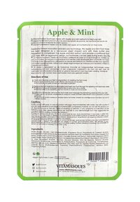 Vitamasques - APPLE AND MINT FOOT MASK 32G - Foot mask - neutral - 1