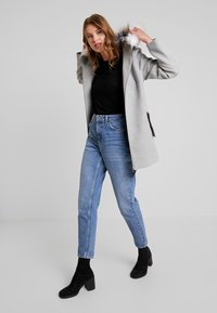 Even&Odd - Classic coat - light grey - 1