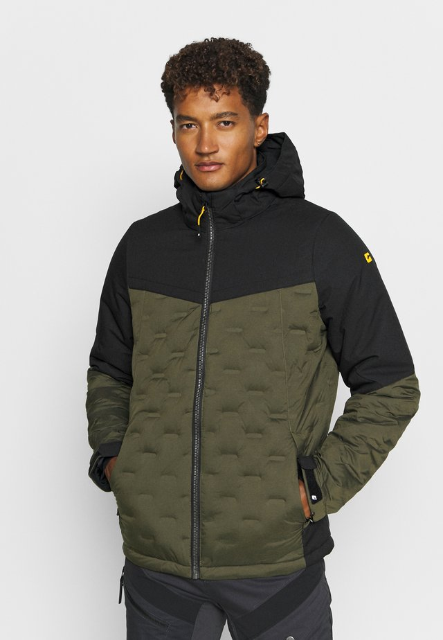 Outdoor jacket - dunkeloliv