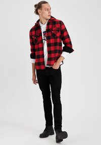 DeFacto - OVERSHIRT - Shirt - red - 1